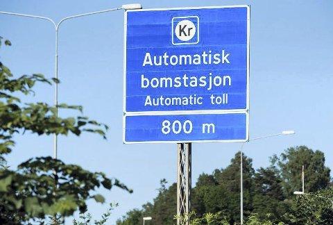 To stasjoner: Det skal etableres to slike automatiske bomstasjoner på veien Tvedeestrand-Arendal.