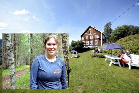 Har kjøpt: Vibeke Møller Isachsen (35) og samboer Lars Blikstad Galaaen (33) har kjøpt Marit Annys vevstogo i Lomen. De har opprettet selskapet Vevstogo AS og vil etter hvert satse på ei næring innen natur- og friluftsliv.