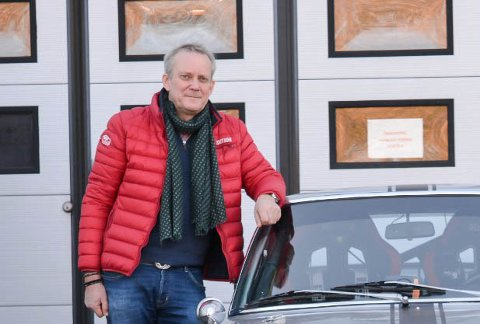 NY EIER: Otto Backe er kun noen små formaliteter unna å være den nye eieren av Storgaten 27 i Son - eiendommen hvor Sjøboden ligger.