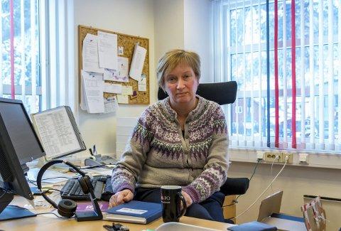 Barnevernsleder: Marianne Romfo er leder for barnevernstjenesten i Nesset, Sunndal og Tingvoll.