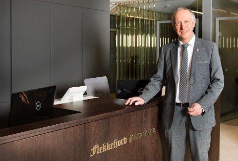 ÅPNER: Banksjef Jan Kåre Eie ser frem til at banken kan åpne dørene igjen.