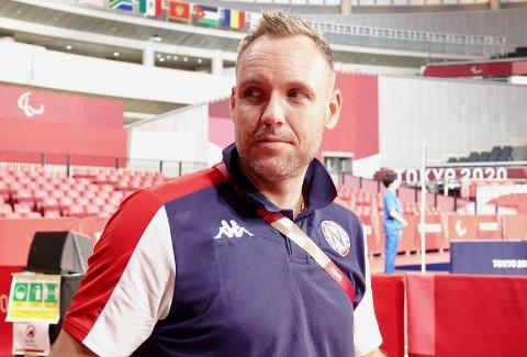 Tommy Urhaug er ikkje nøgd med prestasjonane under Paralympics i Tokyo.