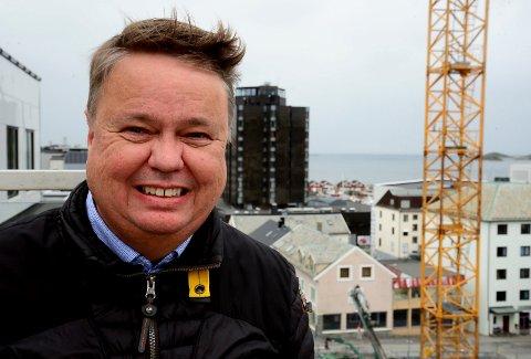 Administrerende direktør og styreleder hos Corponor, Roy B. Nilssen, gjør seg klar for nok et leilighetsprosjekt.