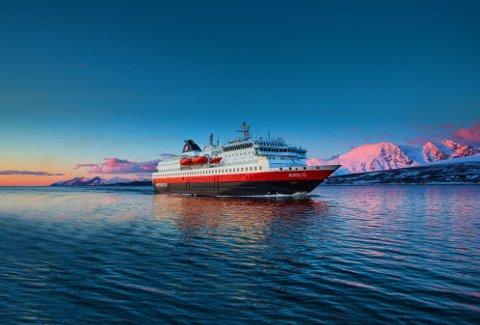Foto: OLE C. SALOMONSEN/Hurtigruten