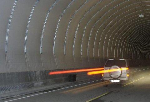 DØMT: Mannen ble dømt for råkjøring i en tunnel.