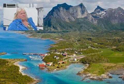 Kritisk: Høyres Beate Bø Nilsen stiller spørsmål ved fylkeskommunens pengebruk på prosjektet på Kjerringøy.