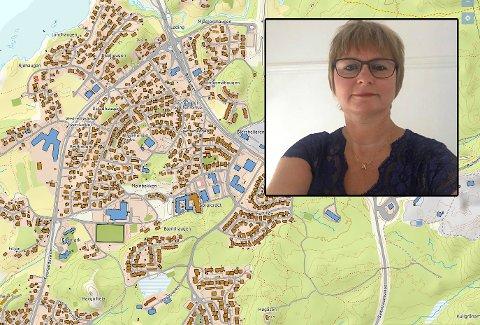 ROS: Tove Hansen skryter av ungdommene som fant moren i området rundt Tverlandet Bo- og Servicesenter.