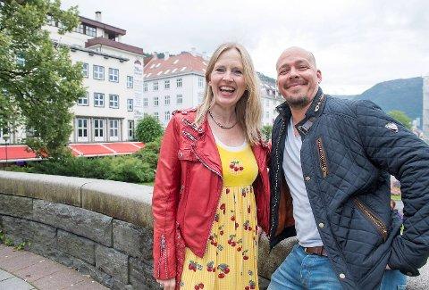 Agnete Håland og Andre Søfteland  Bilde tatt av pressefotograf Magne Turøy, Bergensavisen Tlf: +4790193165 magne.turoy@ba.no