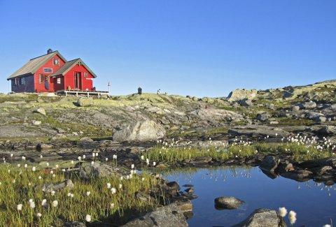 Fjelltur: Området ved Skavlabu egner seg godt for familier med barn. Hytten er ubetjent men vil denne uken ha egen hyttevert som lover spennende aktiviteter for barn. FOTO: Margaret Are/ Bergen og Hordaland Turlag