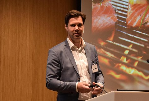 Henning Beltestad er konsernsjef i Lerøy Seafood Group. FOTO: SVEIN TORE HAVRE