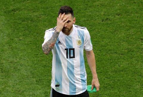 Lionel Messi og Argentina ble slått ut av VM lørdag.