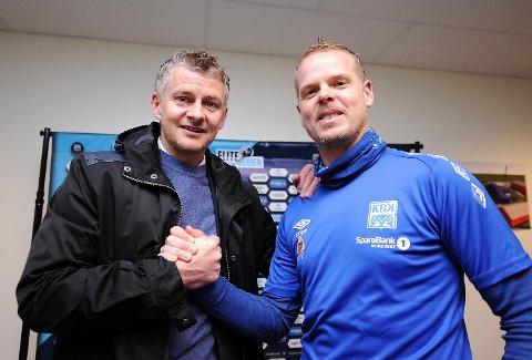 I hardtsatsende Molde har Ole Gunnar Solskjær trøbbel, mens kompisen Christian Michelsen fortsatt har suksess i Kristiansund. Kan KBK vinne lørdag? Selvsagt kan de det!