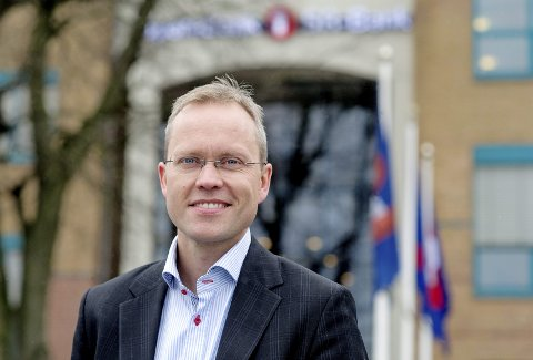 OPTIMIST: Sjeføkonom Kyrre Knudsen tror 2019 blir nok et jubelår. FOTO: SR Bank.