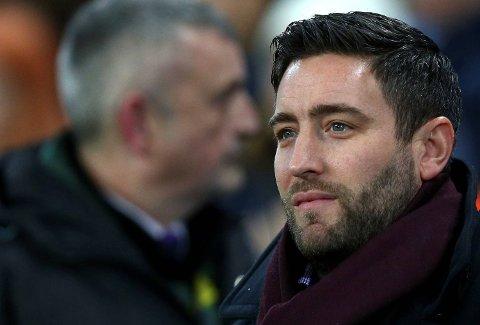 Bristol City-manager Lee Johnson og karene hans har opplevd en enorm opptur de siste ukene.  (AP Photo/Dave Thompson)