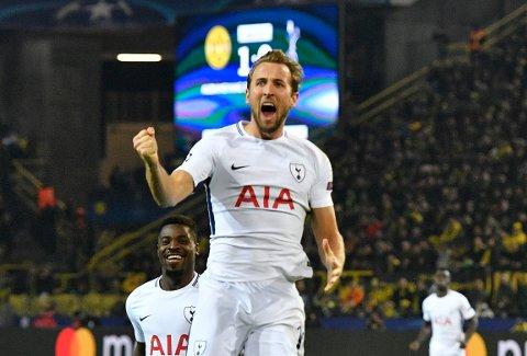 052dbca0 Harry Kane scoret to av målene da Tottenham slo Borussia Dortmund 3-1  hjemme i