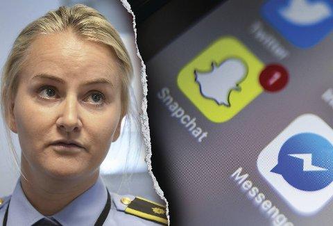 Politiadvokat Christine Wisløff opplyser at bildene av jenten ble delt etter at forholdet mellom de to ungdommene var over.