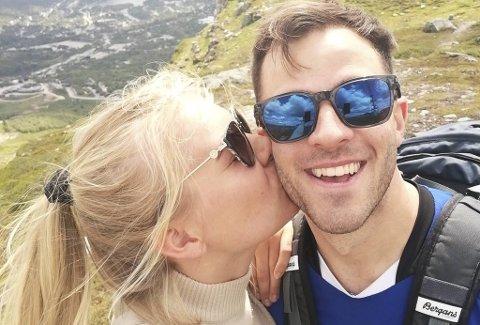 Ida Marie Rygg (23) fra Vennesla har kjøpt leilighet på Landås sammen med sin forlovede Luke DeBoer (23). Der er det foreløpig bare hun som bor.