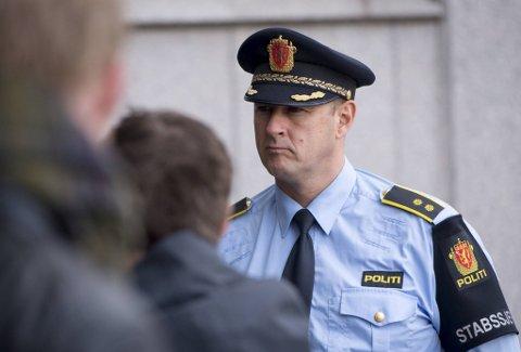 Stabssjef Gustav Landro i Vest politidistrikt.