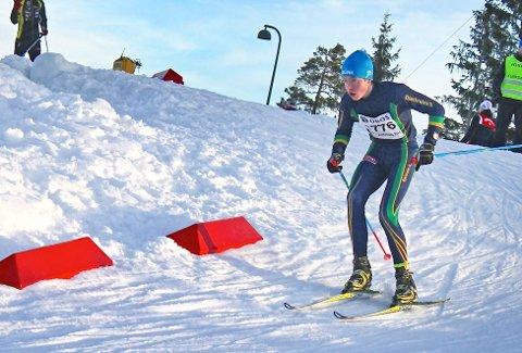 Jakob Odland, her i Holmenkollen i fjor vinter.