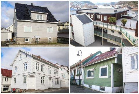 FEBRUAR: Mosterveien 4, Humlestadgaten 18, Gamleveien 2 og Aarstadgaten 11 er blant eiendommene som har fått nye eiere i februar.