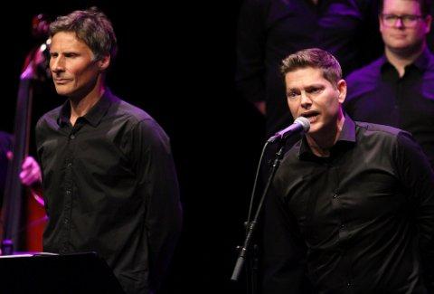 Mannskoret Gammen held konsert i Flora samfunnshus fredag.