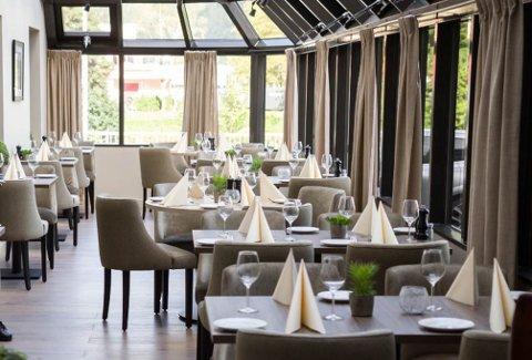 Vigdis Berge Midttun og mannen hennar var gjestar på Thon Hotel Førde, men fekk ikkje ete i restauranten. Bildet er tatt i eit anna høve.