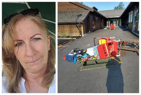 MELDE SEG: Anne Jorunn Fauske er veldig glad for at dei som stod bak rotet i barnehagen har meldt seg.