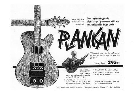 En gammel, svensk Nilsen-annonse fra 1949.