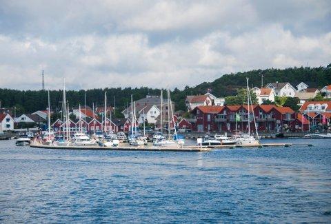 Populær: Gjestehavna på Skjærhalden har ifølge daglig leder Erik Nordum 10.000 besøkende båter i året. – Det er behov for flere plasser, mener han.