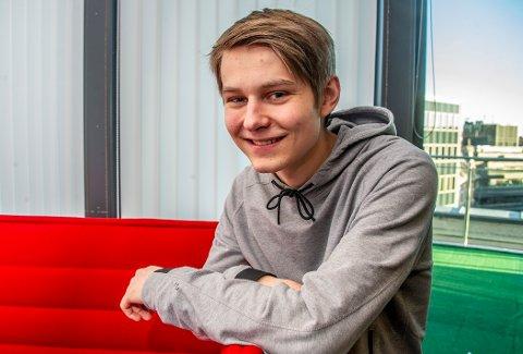 NY LEDER: Isak Hagaseth Mydske er ny AUF-topp i Fredrikstad og Hvaler.