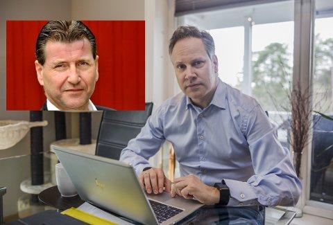 Ordfører Jon-Ivar Nygård er innstilt på første plass på Arbeiderpartiets stortingliste, og stortingsrepresentant Stein Erik Lauvås (innfelt) som nummer tre. Valget gjøres 12. desember. Foto: Felix C. Ellingsrud (hovedbilde)