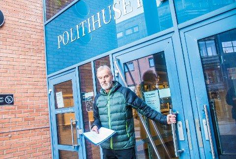 POLITIANMELDELSE: Reidar Stang mener NRK-serie har gjort et så grovt overtramp at han gikk rett til politiet og leverte en anmeldelse.