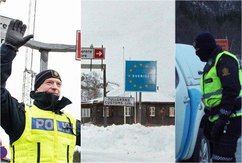 KONTROLL I BEGGE ENDER: Med Sveriges innreiseforbud og Norges obligatoriske koronatesting blir alle som skal over grensen - uansett vei og land - kontrollert.