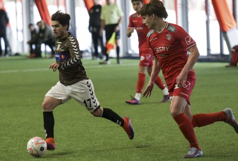 PRØVESPILTE: Nuno Soares fikk prøvespille for Ørn mot FK Tønsberg.