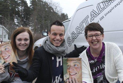 Show: Kristiane Solnes, Magnus Jackson Krogh og Hilde Kragebøl kommer til Kongsvinger med forestillingen «Samtalen».Foto: Kenneth Mellem