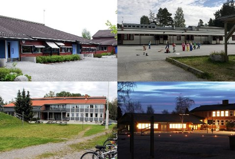 GRANSKES: Fire grendeskoler (bildet) og Korsmo på Skarnes ble lagt ned i 2018. Nå er det igangsatt gransking av hva som skjedde med utstyret.