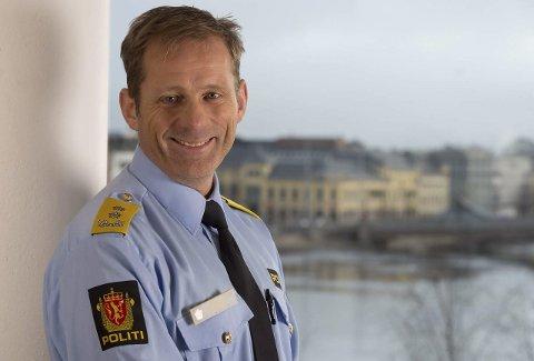 Sjefen: Vår nye politimester heter Johan Brekke. Foto: Politiet