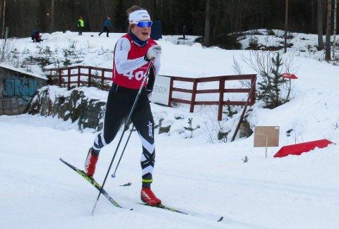 I FINT DRIV: Bjarte Bjertnes under prologen i norgescupen. Til slutt ble det en sterk tredjeplass i finalen.