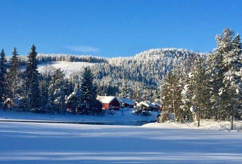 NY TRASE: Initiativtakerne bak Skjerva løypelag har funnet en trase fra Lygnaløypa til Skjerva, Avalsjøen og Brovoll.