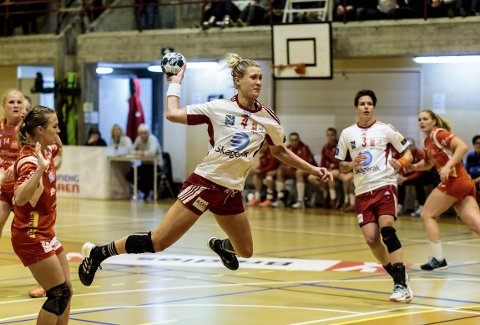 Marit Malm Frafjord scoret fem mål på seks forsøk.