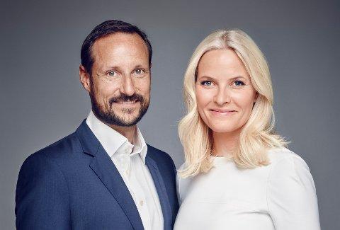 TIL HALDEN: Kronprins Haakon Magnus og Kronprinsesse Mette-Marit.