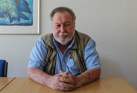 GIR SEG: Etter 34 år i Ernex overlater nå Yngvar Karlsen roret til noen andre.
