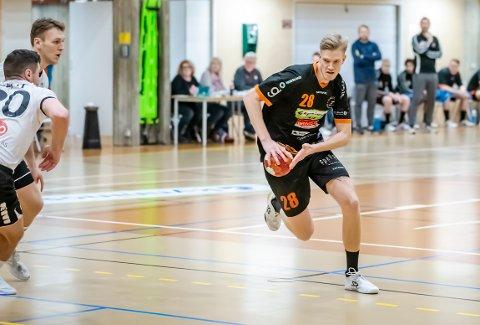 TAP: Casper Ebbesen og HTH var i realiteten sjanseløse i onsdagens hjemmekamp mot tabelltreer Drammen.
