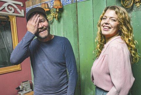 NY LÅT OG KONSERT: Paper Crown fra Hamar er klare med ny singel og Ørnulv Snortheim og Johanne Kippersund gleder seg til konsert på Festiviteten i morra.