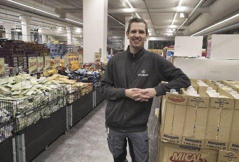 STORT TRØKK: En måned har gitt om lag 30 000 besøkende på Holdbart og daglig leder Jan Roger Viken sier at mottakelsen overgår alle forventninger han hadde. Konseptet har blitt tatt godt i mot og trekker kunder fra store deler av regionen.