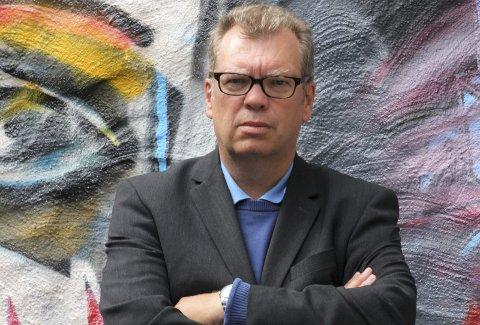 Teater: Frode Grytten er manusforfatter til teateroppsetningen «Albert & Anna», som blir satt opp på 50 steder i 2017. Arkivfoto: Ole M. Kvamme