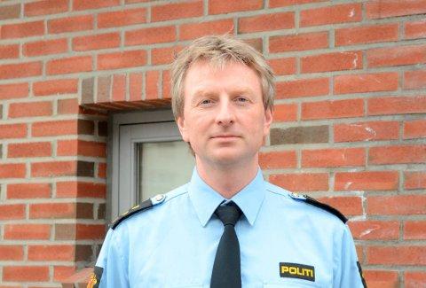 Politiførstebetjent: Svein Buer var med på aksjonen.Arkivfoto: Kristin Eide