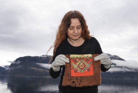 Tilflytter: Agnete Sivertsen gleder seg over natur og kultuyr, spesielt tekstilhistorien, og folk i Hardanger. Arkivfoto: Mette Bleken