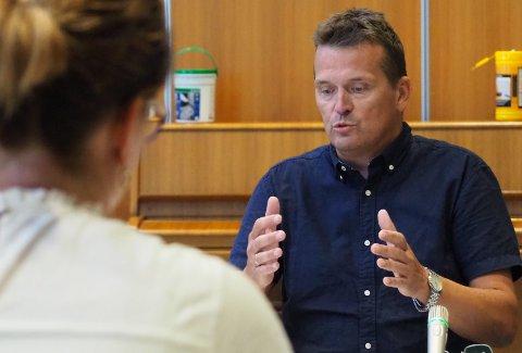 SKUFFET: Varaordfører i Karmøy, Alf Magne Grindhaug lover full politisk oppvask.