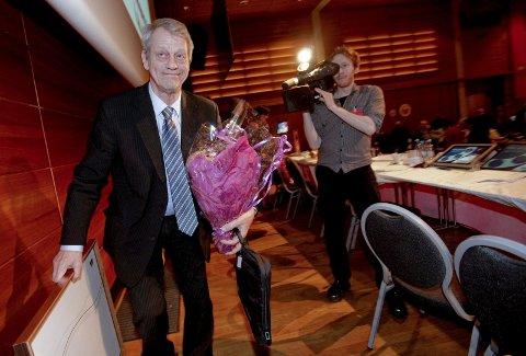FOTBALLPRESIDENT: Sondre Kåfjord ble takket av som fotballpresident i 2010. Foto: Stian Lysberg Solum/SCANPIX
